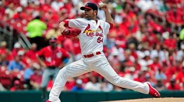 ST. LOUIS, MO - JUNE 15: Jaime Garcia #54 of the St. Louis Cardinals throws to a Washington Nationals batter during the first inning at Busch Stadium on June 15, 2014 in St. Louis, Missouri. (Photo by Jeff Curry/Getty Images) By KMOV Web Producer