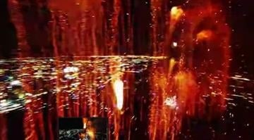 Youtuber Jos Stiglingh answered that question for us by posting this amazing video with footage he captured by sending a drone into the midst of a professional fireworks display. By Stephanie Baumer