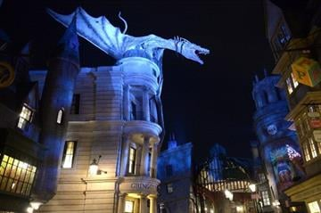 ORLANDO, FL - JUNE 18:  A general view of atmosphere at The Wizarding World of Harry Potter Diagon Alley Grand Opening at Universal Orlando on June 18, 2014 in Orlando, Florida.  (Photo by Gustavo Caballero/Getty Images) By Gustavo Caballero