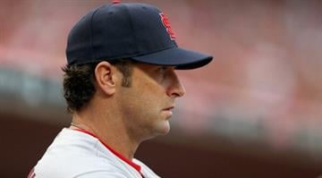 CINCINNATI, OH - MAY 24:  Mike Matheny #22 the manager of the St. Louis Cardinals watches the action during game against the Cincinnati Reds at Great American Ball Park on May 24, 2014 in Cincinnati, Ohio.  (Photo by Andy Lyons/Getty Images) By Andy Lyons