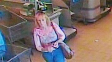 Authorities are searching for a suspect after a purse was reported stolen from a grocery shopping cart in Poplar Bluff on Friday. By Stephanie Baumer