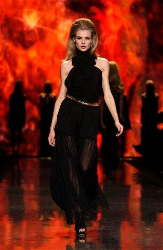 The L.A.M.B. fall 2011 collection is modeled during Fashion Week Thursday, Feb. 17, 2011 in New York. (AP Photo/Jason DeCrow) By Jason DeCrow