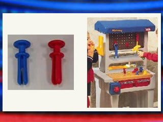 Toymaker Little Tikes recalled more than 1.7 million toy workshop and tool sets because of a choking hazard.
