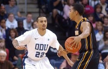 Old Dominion's Marquel De Lancey (22) defends against Missouri's Phil Pressey (1) during the first half of an NCAA college basketball game, Friday, Dec. 30, 2011, in Norfolk, Va. (AP Photo/David B. Hollingsworth) By David B. Hollingsworth