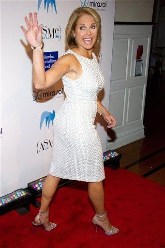 Katie Couric attends the 46th Annual 2011 National Magazine Awards in New York, Monday, May 9, 2011. (AP Photo/Charles Sykes) By Charles Sykes