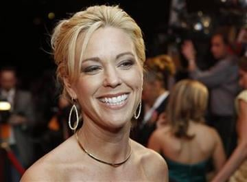 Kate Gosselin arrives at the Barnstable Brown Derby party in Louisville, Ky., Friday, May 6, 2011. The 137th Kentucky Derby will be held Saturday, May 7.(AP Photo/Darron Cummings) By Darron Cummings