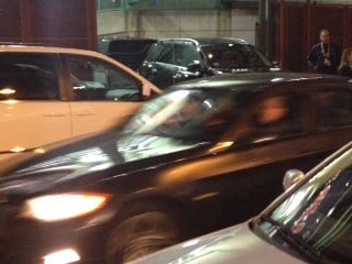 Car carrying Cardinals outfielder Carlos Beltran speeds away from Fenway Park during Game 1 of the World Series. By Bryce Moore