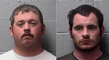 Bradley Easter, 29, and Robert Homer, 22, were arrest and charged with 6 counts of second degree arson in St. Francois County. By Elizabeth Eisele