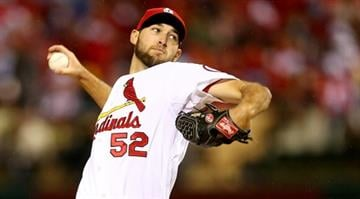 Michael Wacha, 22, won two games during the NLCS and allowed zero runs! Wacha pitched 7 scoreless innings during the Cards NLCS Game 6 to propel the Cards past the Dodgers. By Elizabeth Eisele