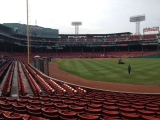 Boston's Fenway Park prior to Game 6 of the 2013 World Series.  (Matt Sczesny, BaseballStL) By Bryce Moore