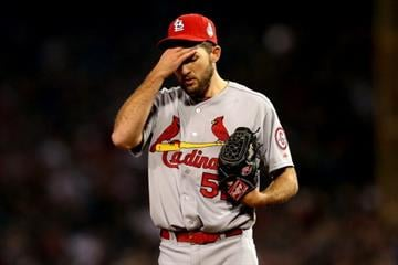 BOSTON, MA - OCTOBER 30:  Michael Wacha #52 of the St. Louis Cardinals reacts against the Boston Red Sox during Game Six of the 2013 World Series at Fenway Park on October 30, 2013 in Boston, Massachusetts.  (Photo by Rob Carr/Getty Images) By Rob Carr