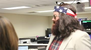 Virginia Kerr, Kent Ehrhardt and Matt Chambers were dressed in full apparel Thursday as they prepared for the Halloween edition of Great Day St. Louis. Can you guess who each person is? Hint: They're all on the same reality show. By Belo Content KMOV