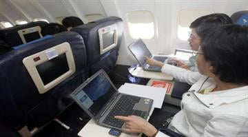 Good news for travelers who dislike being disconnected.  The FAA is easing restrictions on the use of electronic gadgets on airplanes -- though chatting on cellphones will still be prohibited. By STR