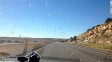 On some of the more barren stretches, the team reached speeds of up to 158 mph. By Belo Content KMOV