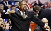 Missouri head coach Frank Haith reacts to play against Texas A&M during the first half of an NCAA college basketball game at the Southeastern Conference tournament, Thursday, March 14, 2013, in Nashville, Tenn. (AP Photo/John Bazemore) By John Bazemore