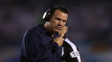 SAN DIEGO, CA - SEPTEMBER 09: Houston Texans head coach Gary Kubiak looks on from the sideline against the San Diego Chargers at Qualcomm Stadium on September 9, 2013 in San Diego, California. (Photo by Jeff Gross/Getty Images) By Jeff Gross