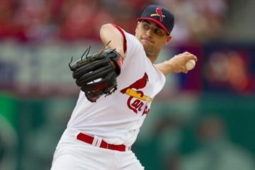 ST. LOUIS, MO - JUNE 2: Starter Tyler Lyons #70 of the St. Louis Cardinals pitches against the San Francisco Giants at Busch Stadium on June 2, 2013 in St. Louis, Missouri.  (Photo by Dilip Vishwanat/Getty Images) By Dilip Vishwanat