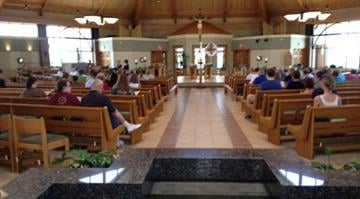 A prayer vigil was held for 17-year-old Erin Schneider at Immaculate Conception Church in Columbia on Friday. About 60 people were in attendance. By Belo Content KMOV