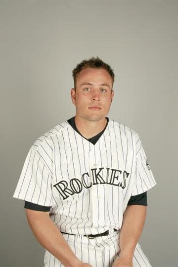 TUCSON - FEBRUARY 28:  Outfielder Matt Holliday #5 of the Colorado Rockies during the 2004 MLB Spring Training Photo Day at Hi Corbett Field on February 28, 2004 in Tucson, Arizona. (Photo by Harry How/Getty Images) By Harry How