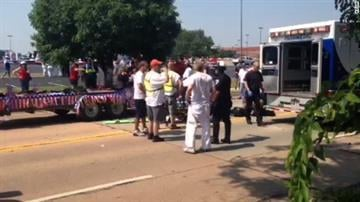 A boy died Thursday in an accident at a July Fourth parade in Edmond, Oklahoma. By Sarah Heath
