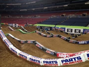AMA Supercross takes over the Edward Jones Dome for a weekend long family-friendly event. By Sarah Heath
