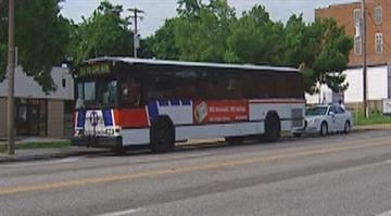 An elderly driver is dead after she struck a woman waiting for the bus on Friday. By Belo Content KMOV