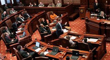 Illinois Senate Chambers By Whitney Curtis
