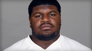 Josh Brent of the Dallas Cowboys is seen in this 2012 file photo. Brent is facing an intoxication manslaughter charge after a one-vehicle accident that killed teammate Jerry Brown, a member of the Cowboys' practice squad. / AP Photo/File By Dan Mueller