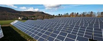 Photo of Berkshire School solar field in Sheffield, MA (photo by Chip Riegel).  (PRNewsFoto/PowerPlay Solar Development) By KMOV Web Producer