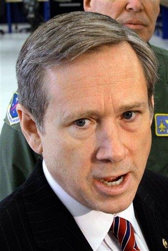 FILE -- In this April 1, 2011 file photo, Sen. Mark Kirk, R-Ill. speaks in Springfield, Ill. Kirk's office says he has suffered a stroke, and is undergoing surgery. (AP Photo/Seth Perlman, File) By Seth Perlman