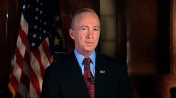 In this image from video, Indiana Gov. Mitch Daniels delivers the Republican response to President Barack Obama's State of the Union address in Washington, Tuesday, Jan. 24, 2012. (AP Photo/APTN) By KMOV Web Producer