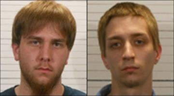Nicholas Haigele, 19, and Bryan Boide, 23, have been charged in connection with six suspicious fires in the Freeburg area. By KMOV Web Producer