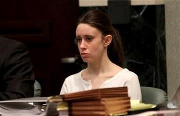 Casey Anthony sits during the opening statements of her murder trial at the Orange County Courthouse on Tuesday, May 24, 2011, in Orlando, Fla. Anthony is on trial for the murder of her 2-year-old daughter. (AP Photo/Red Huber, Pool) By Red Huber