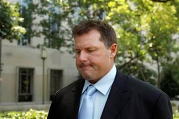 Roger Clemens leaves federal court in Washington, Tuesday, July 5, 2011. (AP Photo/Alex Brandon) By Alex Brandon