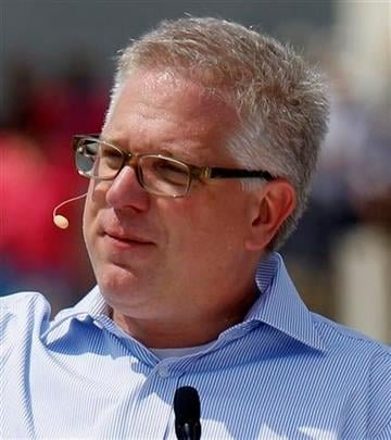 """FILE - In this Aug. 28, 2010 file photo, conservative talk show host Glenn Beck speaks at the """"Restoring Honor"""" rally in front of the Lincoln Memorial in Washington.(AP Photo/Alex Brandon, file) By Alex Brandon"""