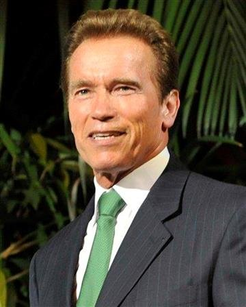 """FILE - In this June 21, 2011 file photo, former Gov. of California Arnold Schwarzenegger attends the Energy Forum 2011 in Vienna, Austria. Schwarzenegger has been cast in a movie called """"Last Stand"""". (AP Photo/Bela Szandelszky, file) By Bela Szandelszky"""
