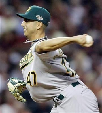 American League's Gio Gonzalez of the Oakland Athletics throws during the eighth inning of the MLB All-Star baseball game Tuesday, July 12, 2011, in Phoenix. (AP Photo/David J. Phillip) By David J. Phillip