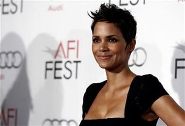 "Actress Halle Berry arrives at ""On Acting - A Conversation with Halle Berry"" during American Film Institute's AFI Fest 2010 in Los Angeles on Tuesday, Nov. 9, 2010. (AP Photo/Matt Sayles) By Matt Sayles"