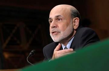 Federal Reserve Chairman Ben Bernanke testifies on Capitol Hill in Washington, Thursday, July 14, 2011, before the Senate Banking Committee hearing to deliver the semiannual Monetary Policy Report. (AP Photo/Susan Walsh) By Susan Walsh