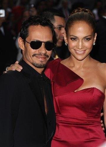 Marc Anthony and Jennifer Lopez attend the Samsung Hope for Children Gala on Tuesday, June 7, 2011, in New York. (AP Photo/Peter Kramer) By Peter Kramer