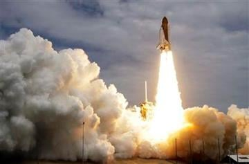 The space shuttle Atlantis lifts off from the Kennedy Space Center Friday, July 8, 2011, in Cape Canaveral, Fla. Atlantis is the 135th and final space shuttle launch for NASA. (AP Photo/John Raoux) By John Raoux