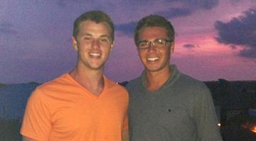 Christopher Lenzen (right) By Brendan Marks