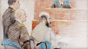 Defendant in Fort Hood massacre yields to his fate.  U.S. Army Major Nidal Malik Hasan rests his case without calling a single witness or testifying in his own defense. By Belo Content KMOV