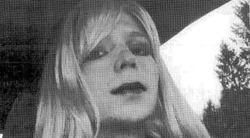 Bradley Manning, the soldier convicted of leaking classified documents, is pictured dressed as a woman in this 2010 photograph. By Belo Content KMOV
