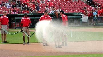 Busch Stadium Grounds Crew By Bryce Moore
