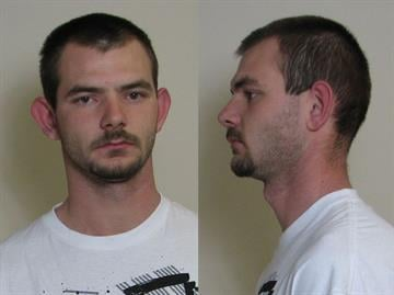 Mason Sykes was taken to jail and charged with Criminal Damage to Property Over $300. By Bryce Moore