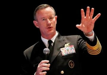 Navy Adm. Bill McRaven, commander of the U.S. Special Operations Command, addresses the National Defense Industrial Association (NDIA), in Washington, Tuesday, Feb. 7, 2012. (AP Photo/Charles Dharapak) By Charles Dharapak