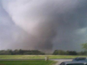 Tornado in Litchfield, Illinois By Afton Spriggs