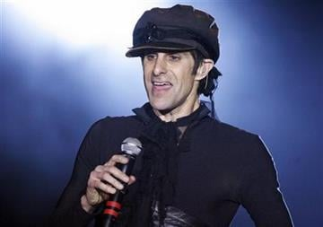 Perry Farrell performs at the NME Awards USA in Los Angeles on Wednesday, April 23, 2008. Perry Farrell will celebrate the 20th anniversary of Lollapalooza with an eclectic lineup this summer in Chicago. (AP Photo/Matt Sayles) By Matt Sayles