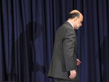 Federal Reserve Chairman Ben Bernanke concludes his first news conference at the Federal Reserve in Washington, Wednesday, April 27, 2011. (AP Photo/Susan Walsh) By Susan Walsh